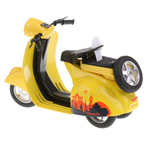 Sharplace 1:14 Juguetes Modelo de Coche de Moto de Aleación Tire hacia Atrás Regalo
