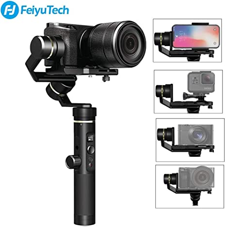FeiyuTech G6 Plus 3-Axis Handheld Gimbal Stabilizer for Smartphone ...