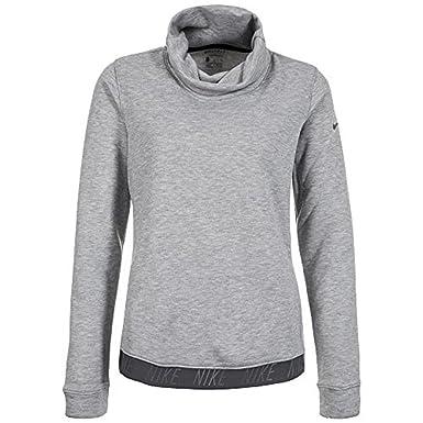 08dfc18bfe21 Nike Dry Top Cowl Neck Long Sleeve Women s Training Sweatshirt at ...