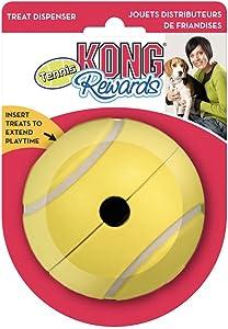 KONG Rewards Tennis Ball, Large, Treat Dispensing Dog Toy