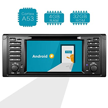 Amazon com: Amaseaudio Upgrade Android 8 0 4 RAM Double Din 7 inch