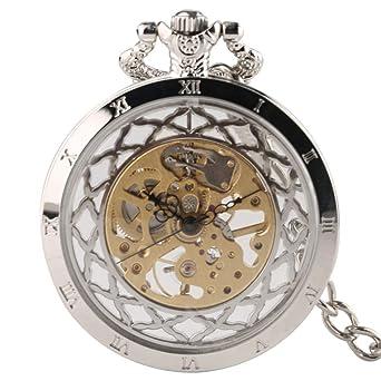 proporcionar una gran selección de selección mundial de sensación cómoda XY&DQ Reloj de Bolsillo Viento de Mano Mecánico Reloj de ...