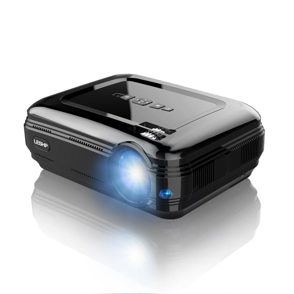 Clase Boda Mini proyector port/átil de OCDAY para Cine TV Discurso-Color Negro proyector Xbox Juego Hogar videoproyectores de 2500 l/úmenes Full HD 1080P