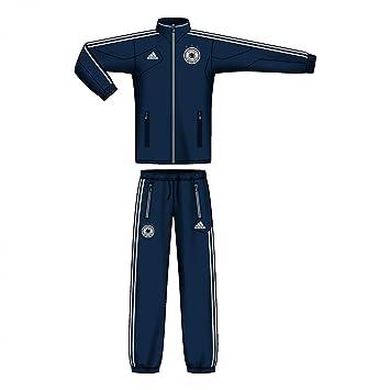 Adidas Sere 14 Pre Suit Blauer Trainingsanzug für Erwachsene