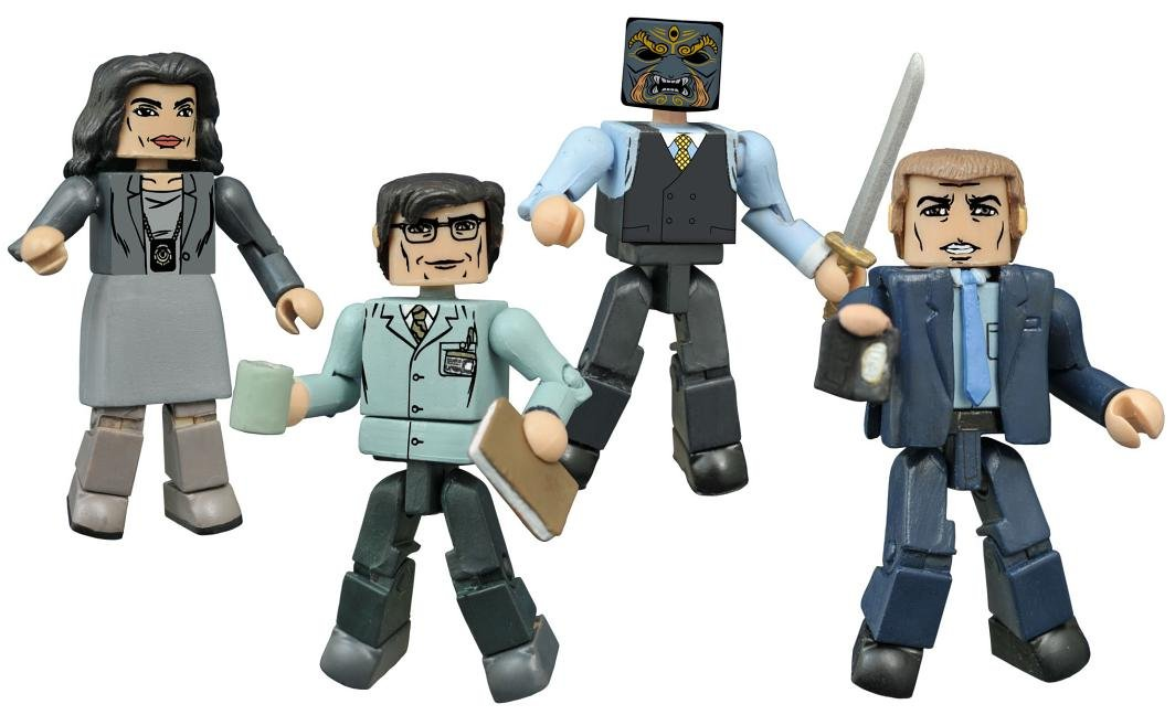 Entertainment Earth Gotham Minimates Box Set Diamond Select JUN152105
