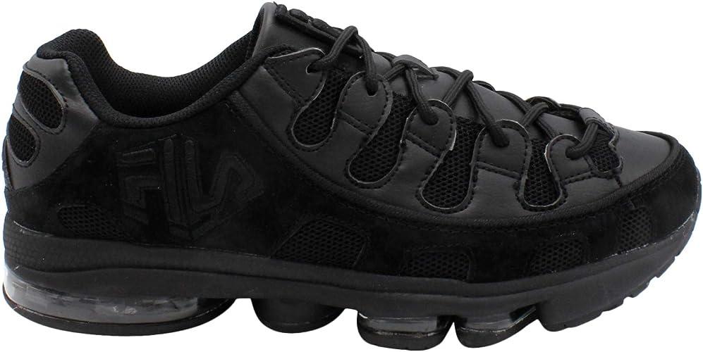 Fila Mens Silva Trainer Running Shoes Black/Black/Black 11.5 ...