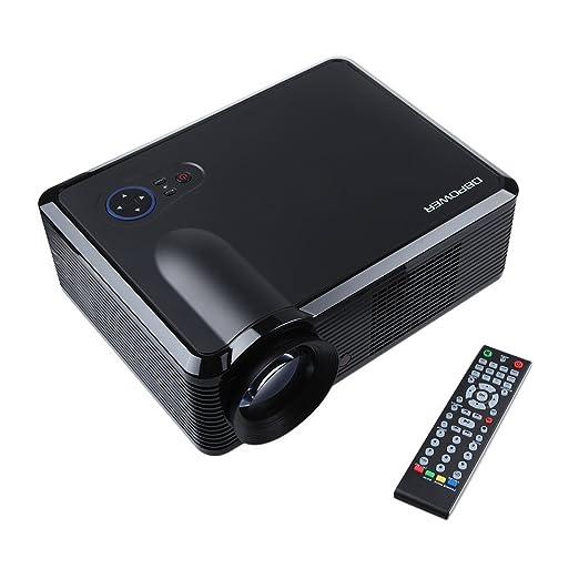 307 opinioni per DbPower 1080P LED Videoproiettore Proiettore Risoluzione: Nativa 854 * 540, 1024