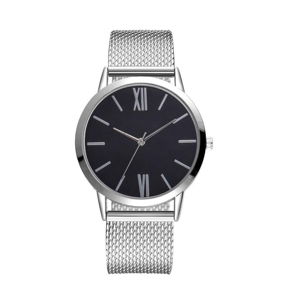Women Clearance Analog Quattz Watches Fashion Waistwatch Digital Stainless Steel Band Waterproof Watch On Sale