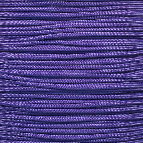 Wide Strand - Craft County 275 Pound Tensile Strength Paracord 100 Feet - Wide Variety of Color Options - 5 Strand Nylon Core
