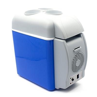 YOMYM ポータブル冷温庫 車載用ミニ冷蔵庫