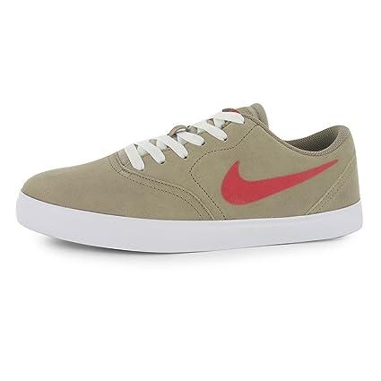Nike SB Check Zapatillas para hombre caqui/rojo Casual zapatillas zapatos calzado, Khaki/