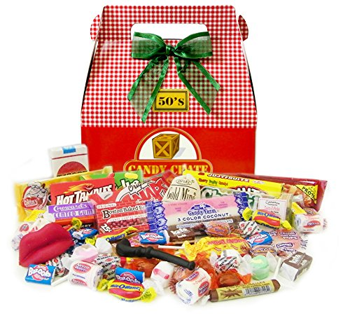 1950's Holiday Retro Candy Gift Box