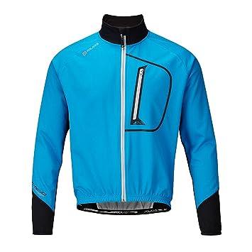 Polaris - Chaqueta de Ciclismo Softshell AM Enduro en Color Azul/Negro/Piedra Caliza - Azul vivo / Negro / Caliza, Mediana: Amazon.es: Deportes y aire libre
