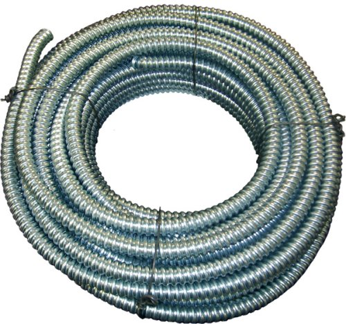 Southwire 55081702 3/8-Inch-by-100-Foot Reduced Wall Flexible Galvanized Conduit