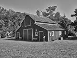 18 x 24 B&W Photo Replication What The Museum Calls a Prairie-Style barn Too rickety to Move from The Prairie, Part The Ackley Heritage Center That Also Includes a pionee 2016 Highsmith 02a