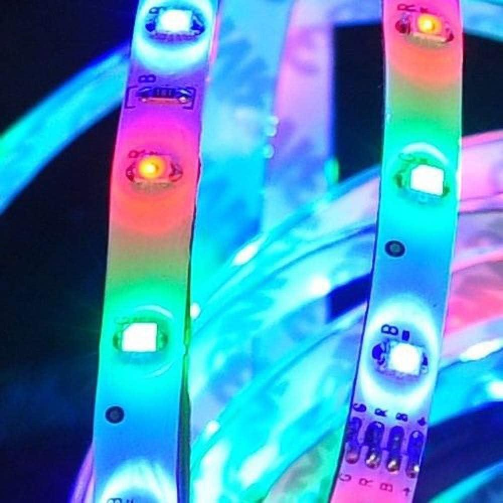 FENSIN Bande LED 10M 600 leds 3528 SMD RGB Flexible Multicolore Peut-D/écoup/é Clignotant au N/éon Decor Rubans avec T/él/écommande /à Infrarouge 44 Touches R/écepteur A