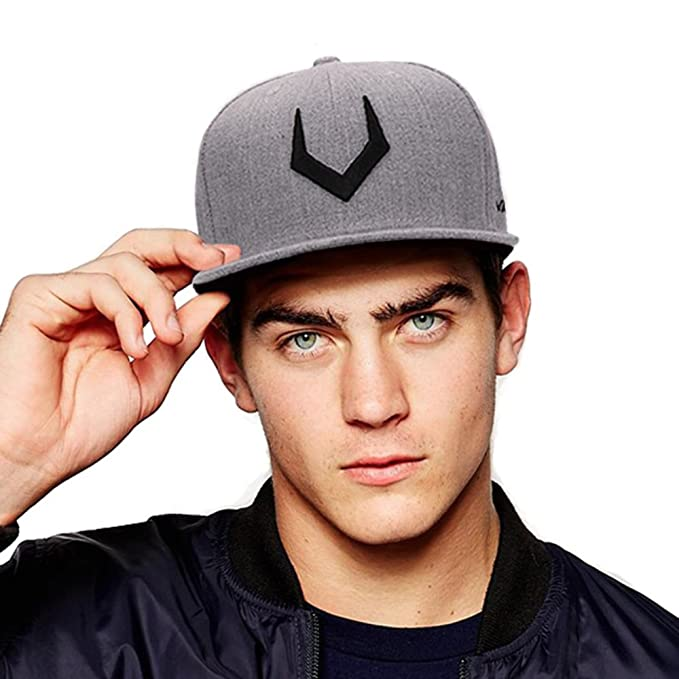 AKIZON Adjustable Snapback Embroidery 3D Hip Hop Cap Flat Bill Baseball Cap at Amazon Mens Clothing store: