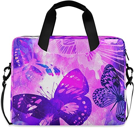 Laptop Shoulder Bag Carrying Briefcase Handbag Sleeve Case Colorful Abstract Retro Afro Cute Laptop Cases 15.6 for Women
