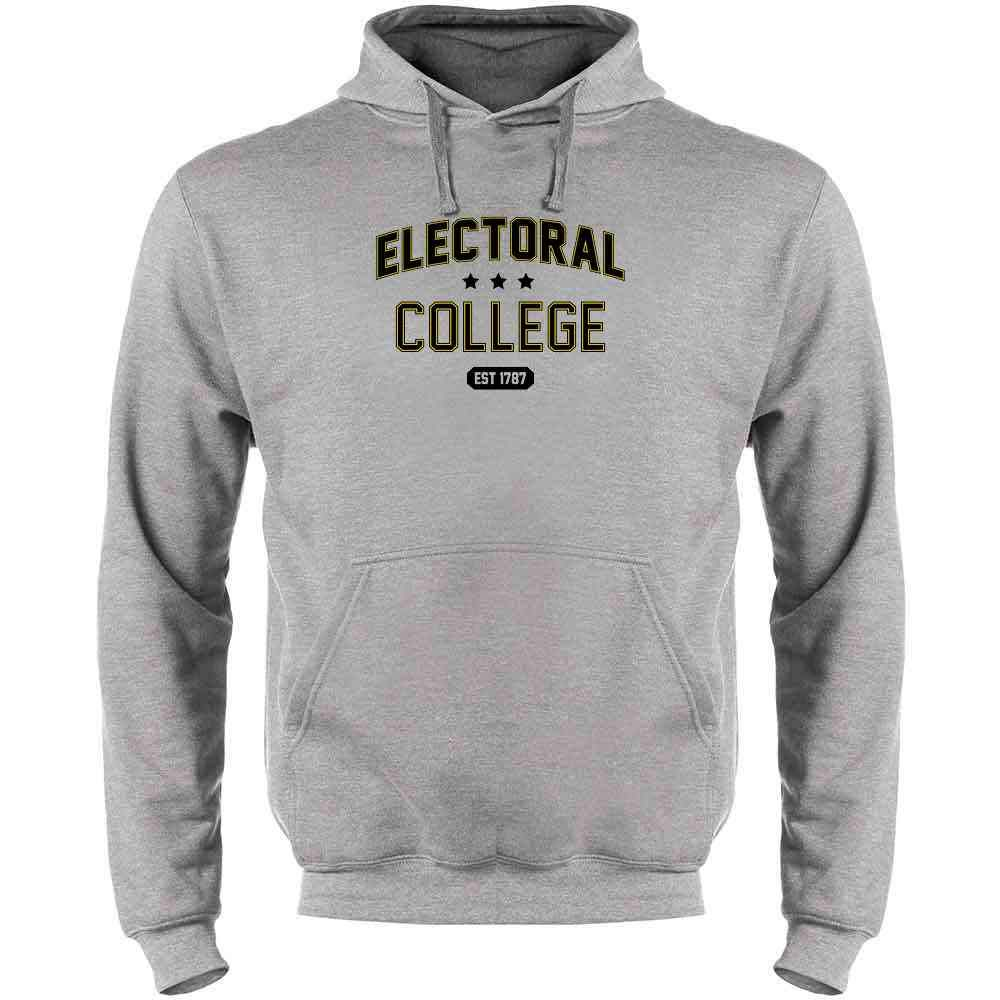 Electoral College Alma Mater Sports Parody Political Mens Fleece Hoodie Sweatshirt