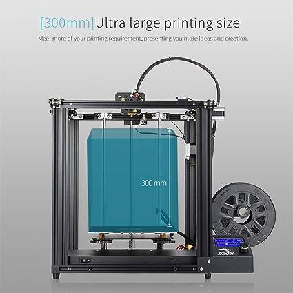 HZYYZH Impresora 3D, Sistema DIY de Gran tamaño y Alta precisión ...
