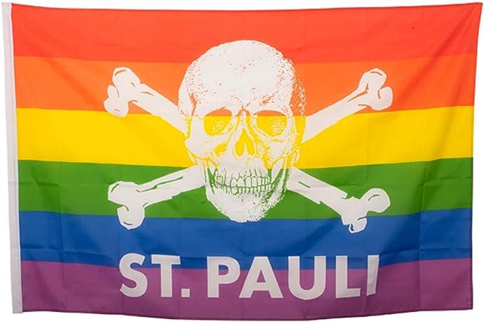 FC St Pauli Bonnet dhiver motif t/ête de mort