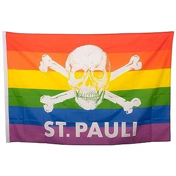 Image result for st pauli rainbow flag