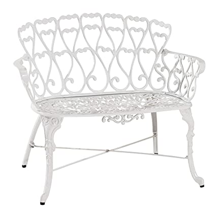 Remarkable Amazon Com Antique Victorian Cast Aluminum Patio Dining Ibusinesslaw Wood Chair Design Ideas Ibusinesslaworg