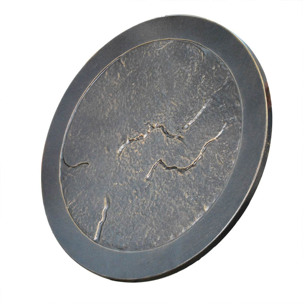 Stanbroil Rust-Free Cast Aluminum Fire Pit Burner Cover - Lazy Susan for Agio and TK Classics