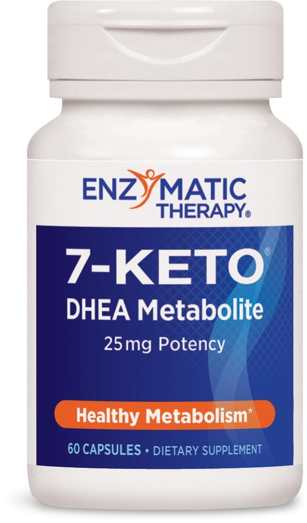 Enzymatic Therapy 7-Keto, Dhea Metabolite, 60 Capsules by Enzymatic Therapy (Image #1)