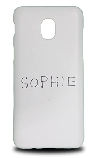 Amazon com: Cute Name Tag Sophie Sketch #1 Hard Phone Case
