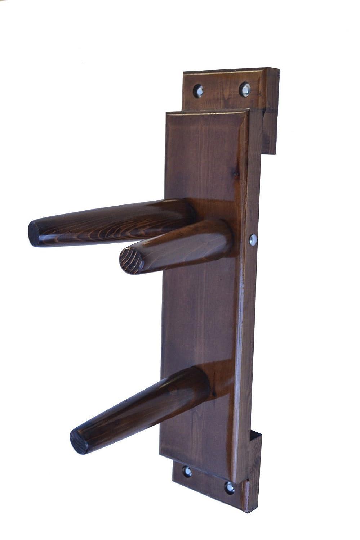 Wing Chun Wooden Dummy Plane Walnut Colore dummymaker