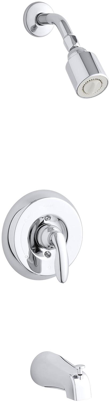KOHLER T15601-4S-CP K-T15601-4S-CP Faucet Trim Kits, Polished Chrome