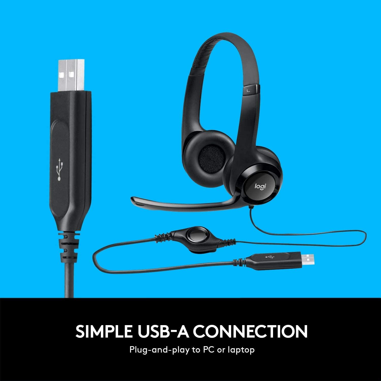Logitech H390 Usb Headset Computer Zubehör