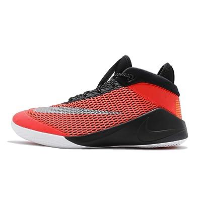 buy online d6074 ef1c4 Nike Future Flight (GS), Chaussures de Basketball garçon, Multicolore  (Bright Crimson