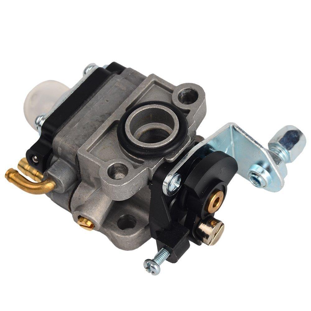 OuyFilters Carburetor Carb Kit with Primer Blub Fuel Line Fuel Filter For Honda GX25 GX25N GX25NT FG110 Replaces 16100-Z0H-825