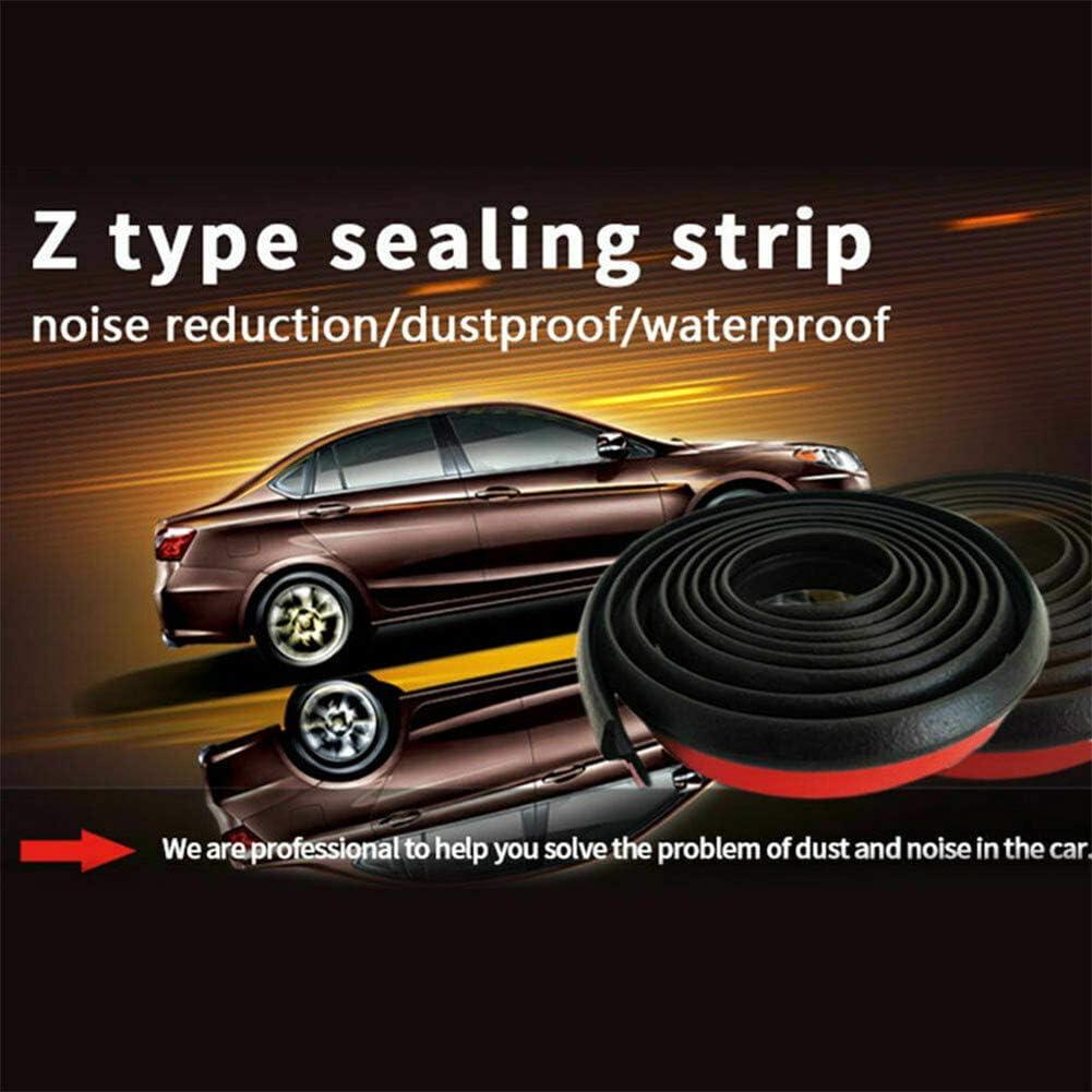 PoeHXtyy 5 Mt Autot/ür Gummidichtung Z Form Trimmdichtung T/ürkantenschutz Dichtungsstreifen f/ür Auto LKW Motorschutz