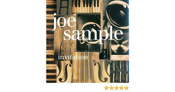 Joe sample invitation by joe sample amazon music stopboris Choice Image