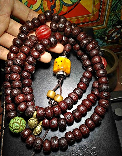 old amber beads - 3