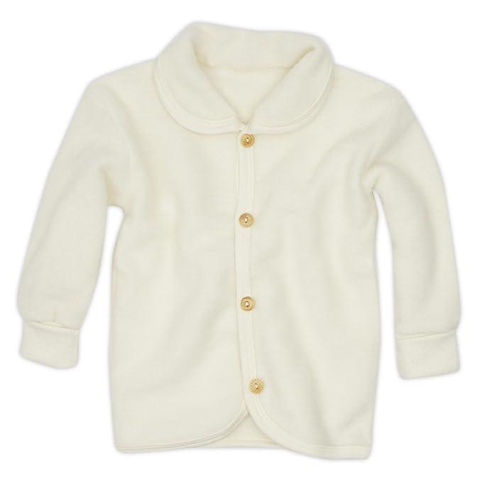 Cosilana chaqueta de bebé con cuello redondo y botones de ...