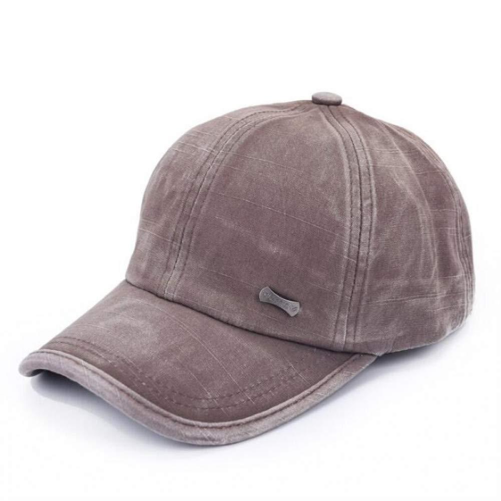 Brown Outdoor Sports hat Baseball Cap Wash Baseball Caps Cotton Snapback Spring Hat Comfortable Casual Hats Baseball Cap Men Homme Dad Hat GrljdHat