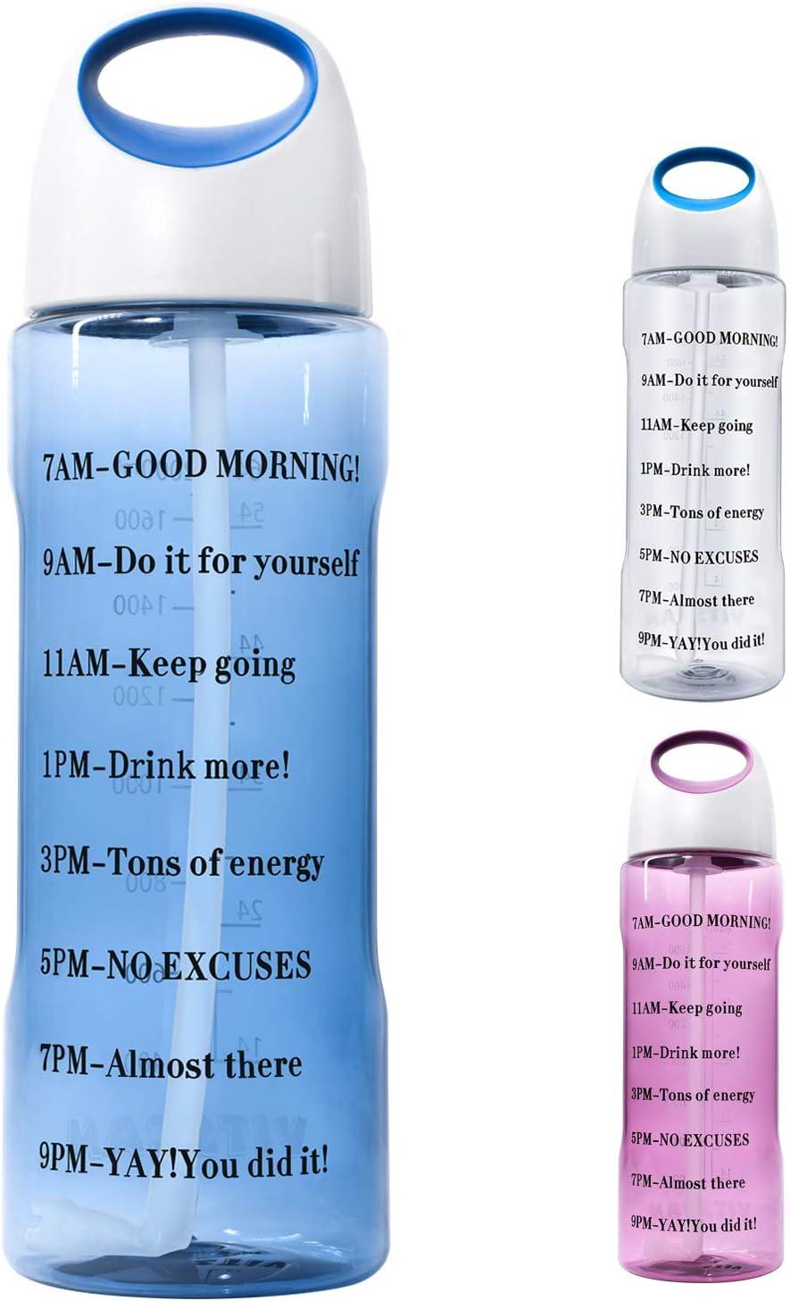 Details about  /Square Water Bottle 480ml BPA Free Fruit Infuser Plastic Sport Drink Bottle YI