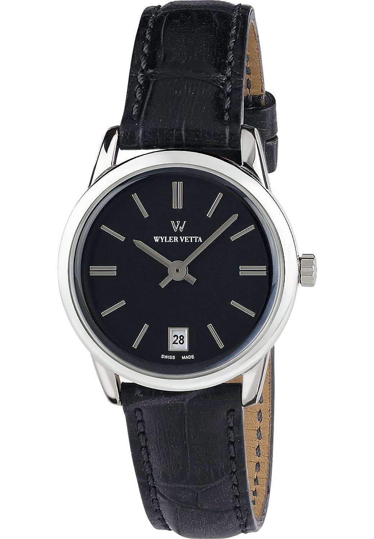 Wyler Vetta Damen-Armbanduhr Opera Analog Quarz One Size - schwarz - weiß