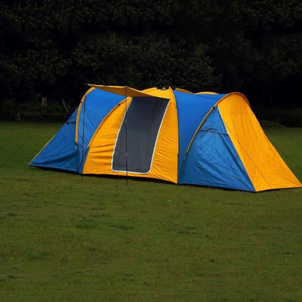 8-9人キャンプテントトンネルテント簡単にインスタントポータブルカバナ防水&紫外線保護、ビーチ、ガーデン、釣り、ピクニック、ハイキング   B07Q4W92D4