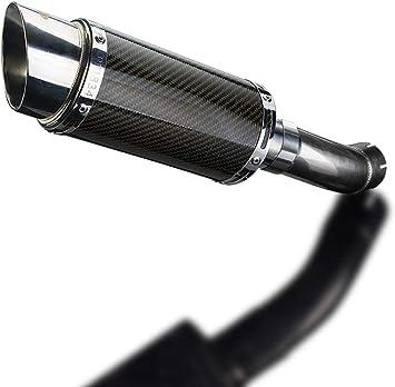 Radiant Cycles Shorty GP Exhaust Short Muffler Slipon Pipe 04-07 CBR1000RR BLACK