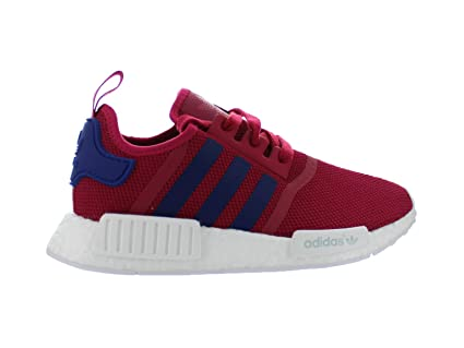Amazon.com  Kids Adidas NMD R1 J GS Pink Purple White S80205 US 5.5y ... 52939f60f
