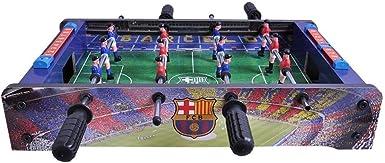 FC Barcelona Official - Futbolín de mesa (Talla Única) (Rojo/Azul ...
