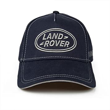 b9211e43e43 Genuine Land Rover Logo Cap (Navy)  Amazon.co.uk  Sports   Outdoors