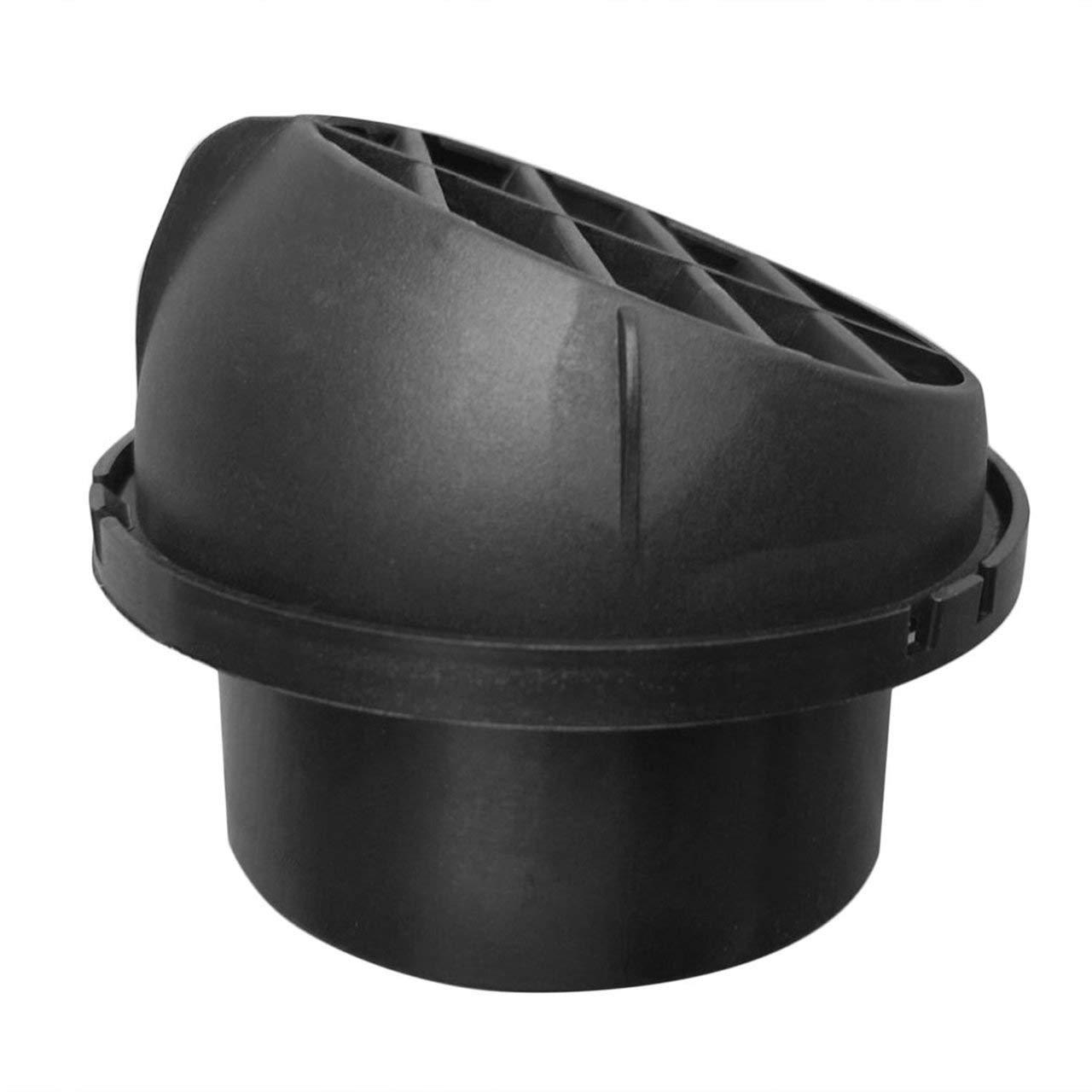 Jasnyfall Sortie d'air rotative de Direction d'é vent de Chauffage de Voiture Chaude pour Camion Webasto Noir