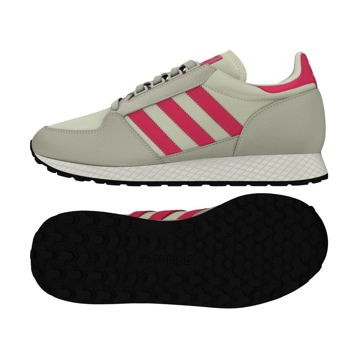 sale retailer bc65f 2f3cb adidas Originals Basket Forest Grove Junior - B37744 Amazon.fr Chaussures  et Sacs