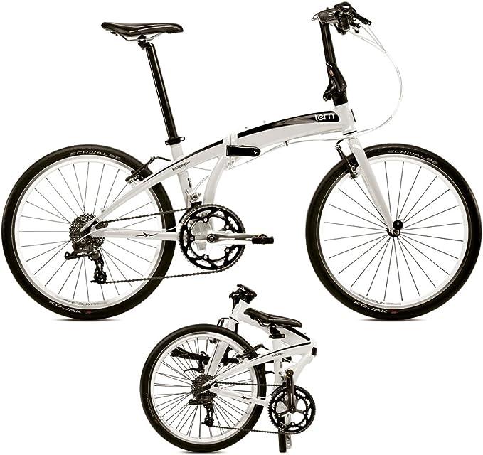 tern Eclipse P18 - Bicicletas plegables (7/8 velocidades) - blanco ...